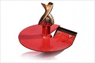 Шнековый бур для мотобура Iron Mole Flatr