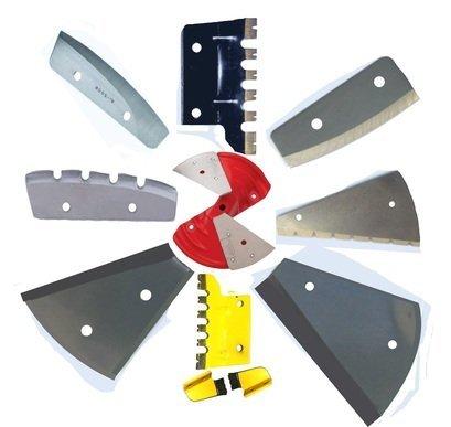 Типы ножей для ледовых шнеков