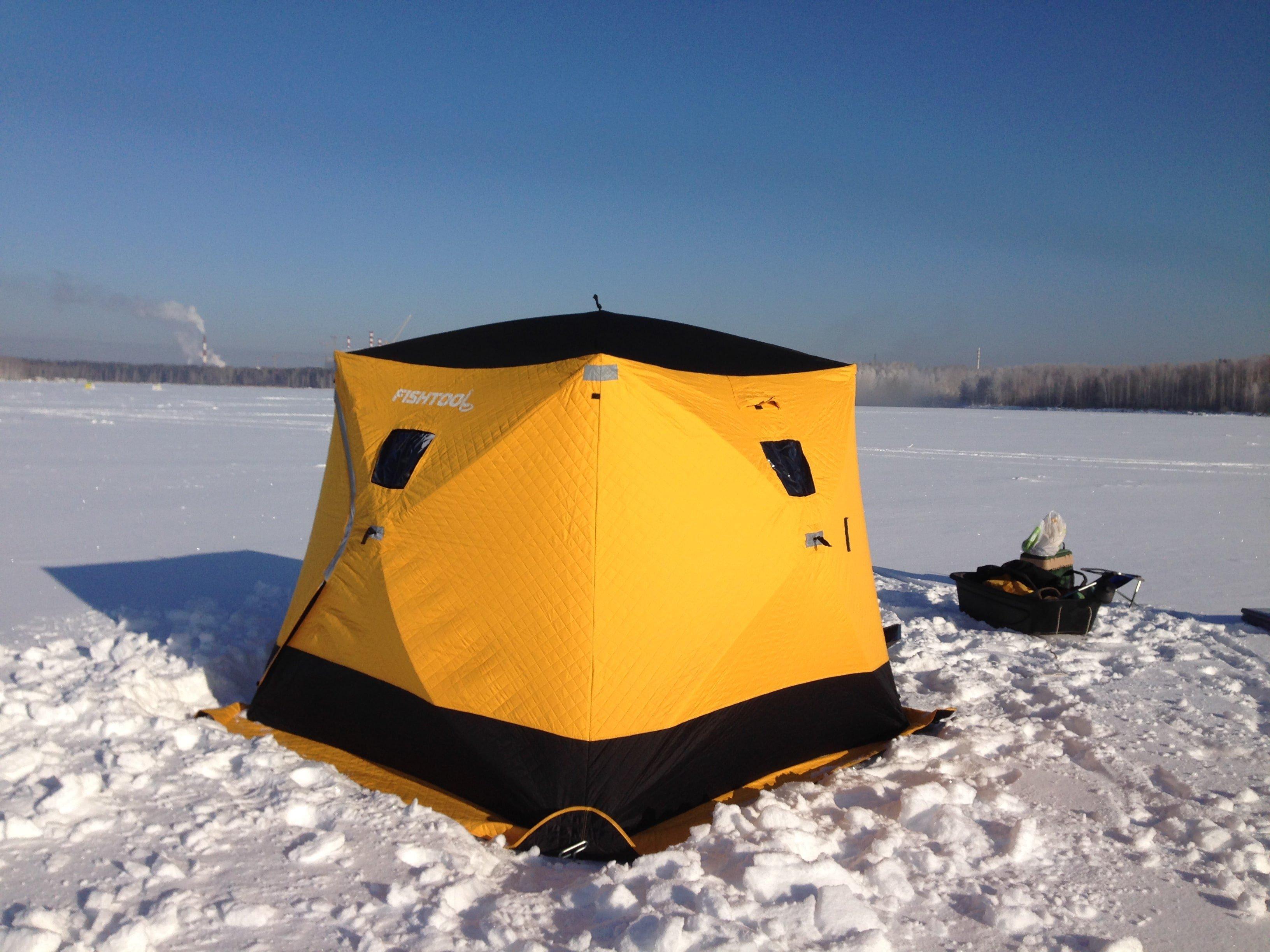 Поступили в продажу палатки для зимней рыбалки Fishtool
