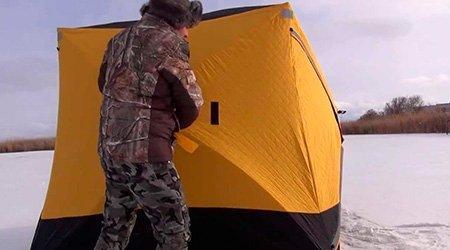 Выбор палатки для зимней рыбалки