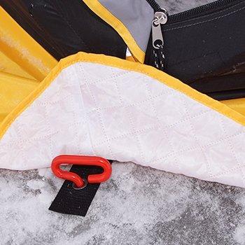 Анкер по углам палатки для крепления ко льду