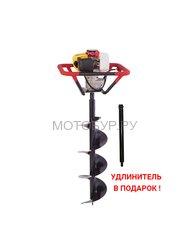 Мотобур (бензобур) Iron Mole E53 и шнек D 200 мм