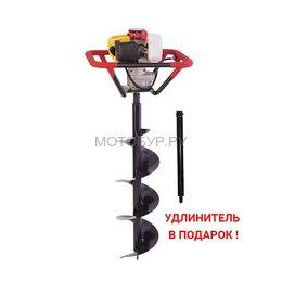 Мотобур (бензобур) Iron Mole E53 и шнек D 250 мм