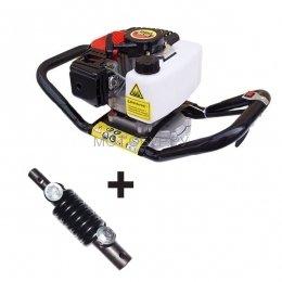 Мотобур (бензобур) Probur 250 с адаптером Flex-Coil в комплекте