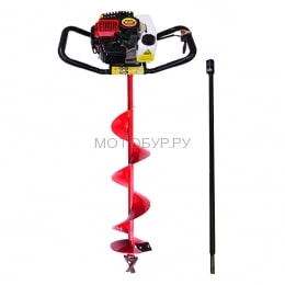 Мотобур (бензобур) Probur 250, шнек N1 200x1000 мм, удлинитель 1000 мм в подарок