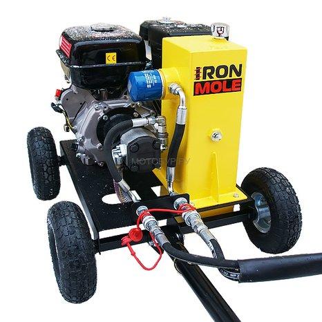 Гидравлический ямобур (мотобур) Iron Mole Profit