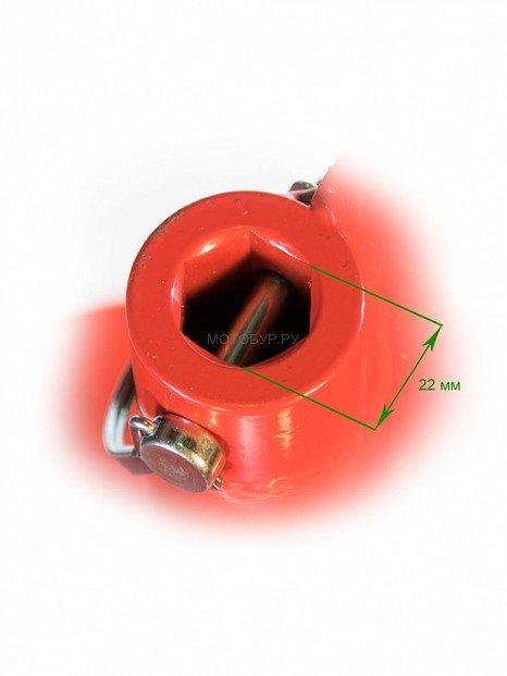 Шнековый удлинитель 450X1000 мм Iron Mole для шнековых буров PENGO 22.