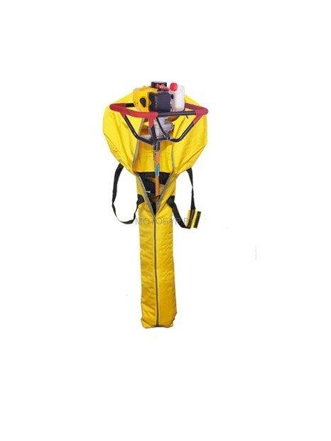 Мотобур для рыбалки (мотоледобур) Iron Mole E53 Ice, шнек D 150, сумка