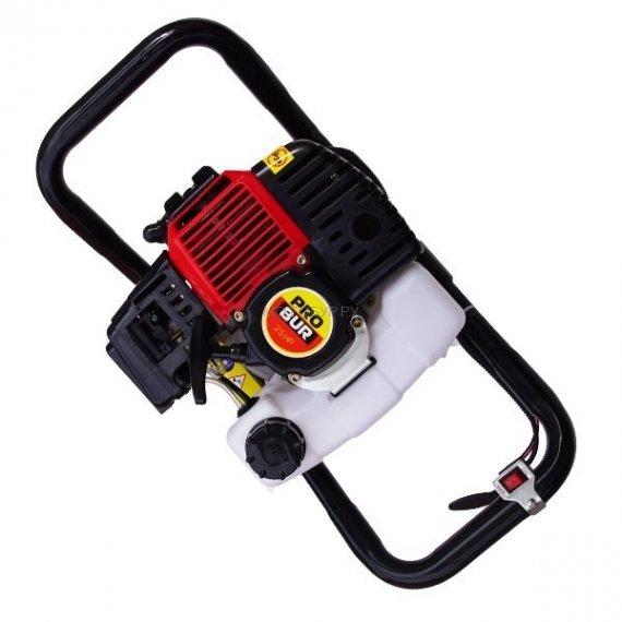 Мотобур (бензобур) Probur 250, шнек D 150 мм, удлинитель 1000 мм, адаптер Flex-Coil
